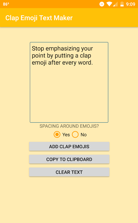 how to get clap emoji on android