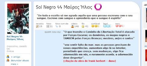 Photo: Moshe Rabenu/Guerreiro, agora como Sol Negro - Perfil no Orkut.