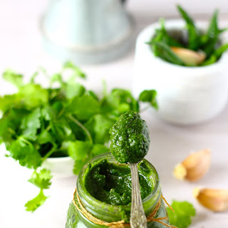 Mint and Coriander Chutney Recipe