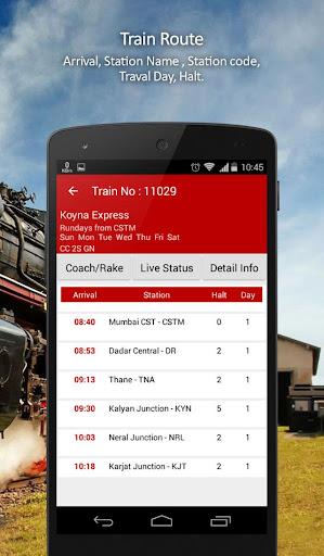 railway time table download pdf