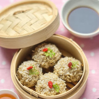 Chinese Pearl Meatballs
