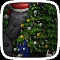 christmas tree theme icon