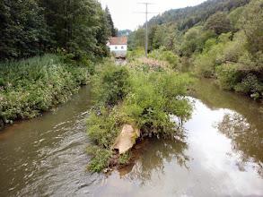 Photo: der Neckar nimmt langsam zu