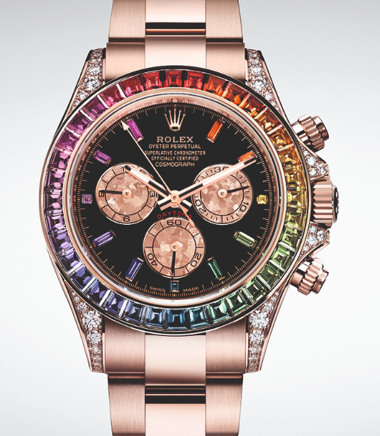 Rolex Oyster Perpetual Cosmograph 'Rainbow' Daytona.