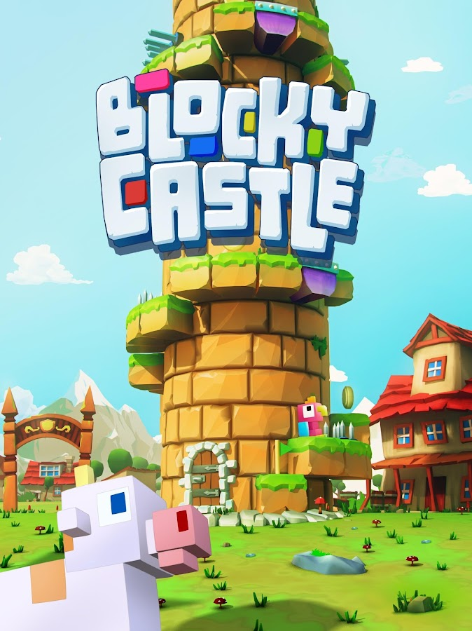 Blocky Castle- screenshot