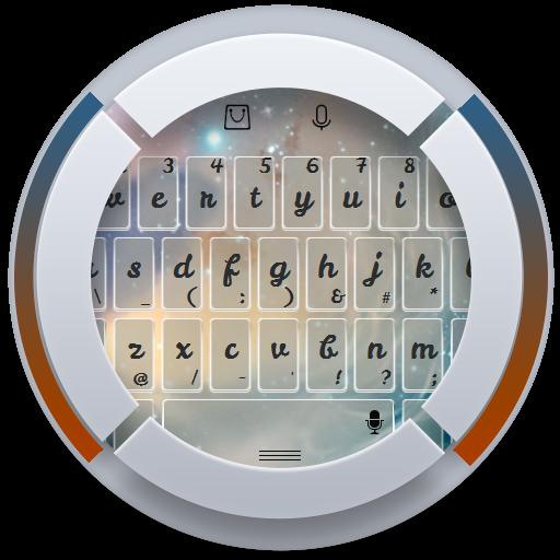 閃亮銀河鍵盤 個人化 App LOGO-APP試玩