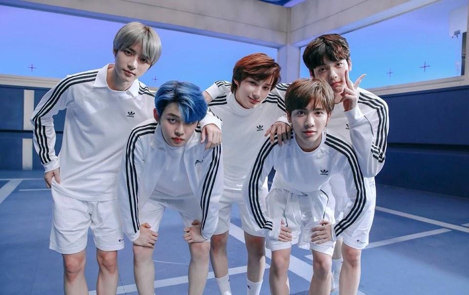 txt gaon album chart 1 2019