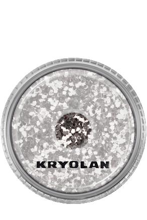 Kroppsglitter silver