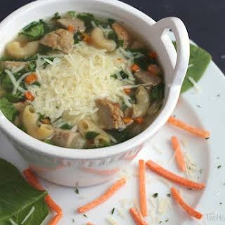 Crock Pot Italian Wedding Soup.