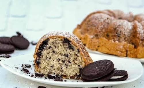 "Oreo Cookie Pound Cake ""What a great pound cake! It's super moist,..."