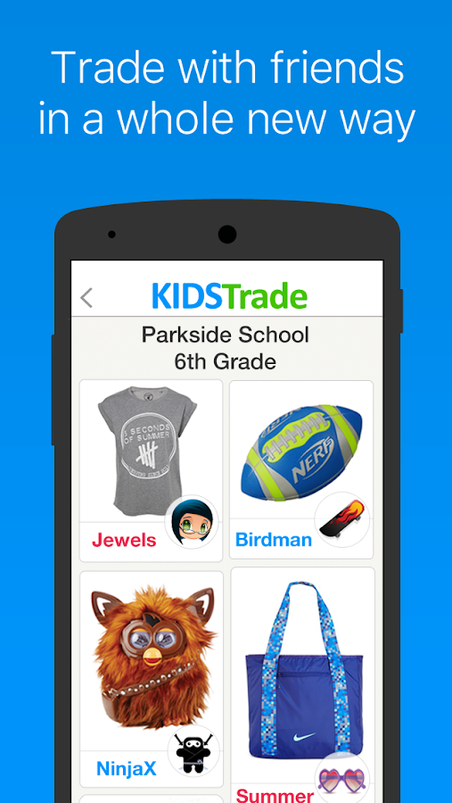KidsTrade: Trade With Friends- screenshot