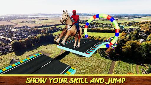 Diligent SuperHeroes Horse Riding 3d  screenshots 1