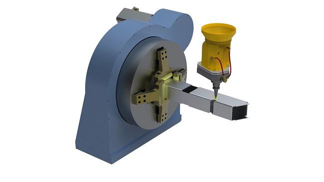 RADAN Radtube для многоосевого раскроя трубы и трубчатых элементов лазером