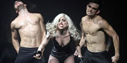 Photo: LADY GAGA am 11.11.2010 in der Wiener Stadthalle