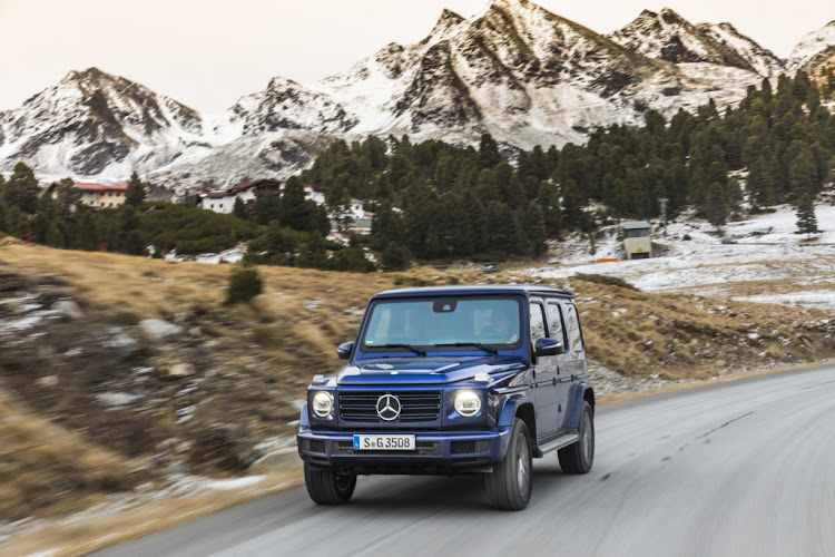 Diesel G Class offers refined grunt with fuel-sipping economy. Picture: SUPPLIED