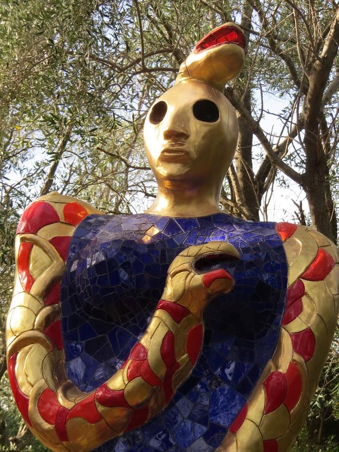 Niki de Saint Phalle, L'Oracolo (particolare), Giardino dei Tarocchi, Capalbio