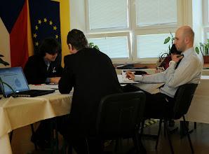 Photo: Ústní maturitní zkoušky 4. A (školní rok 2011 - 2015, pondělí 18. 5. 2015).