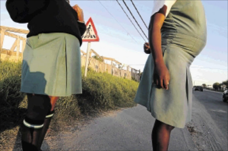 Pupils at a Limpopo school are focusing on eradicating teenage pregnancy and have given Valentine's Day a cold shoulder.
