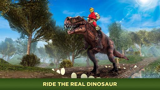 Evolved Dino Rider Island Survival screenshot 1