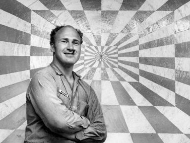 "Ken Kesey, author of ""One Fell Over the Cuckoo's Nest"" and leader of the Merry Pranksters."