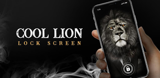 Free Lion style lock screen app for Android phone & animal lovers.