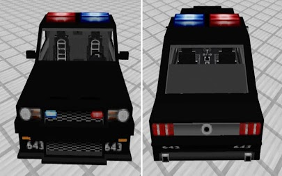 Police Car Addon MCPE APK screenshot thumbnail 1