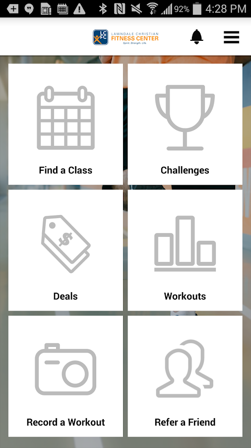 Lawndale Christian Fitness- screenshot