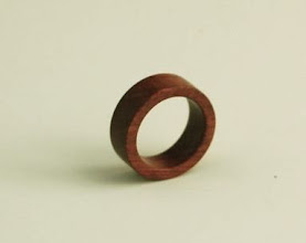 "Photo: Chris Wright - Ring - 1"" - Bloodwood"