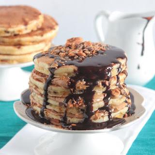 Butterfinger Dessert Pancakes