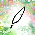 """心のノート:あなたの""""気持ち""""を記録して心を整える日記アプリ icon"""