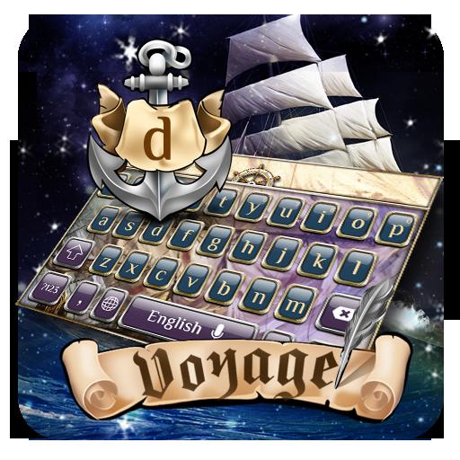 Cruise sailing keyboard