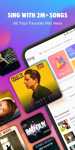 StarMaker: Sing free Karaoke, Record music videos screenshot 1