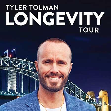 Tyler Tolman Longevity Tour Sydney