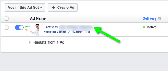 How to check the report of your Facebook's Ads campaign.