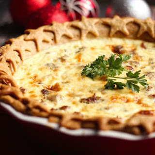 Christmas Quiche.