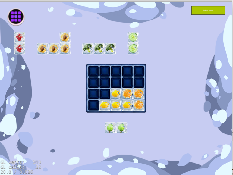 Fill the Fridge Puzzle- screenshot