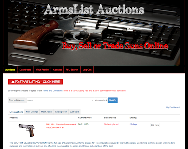 ArmsList Auctions screenshot 0