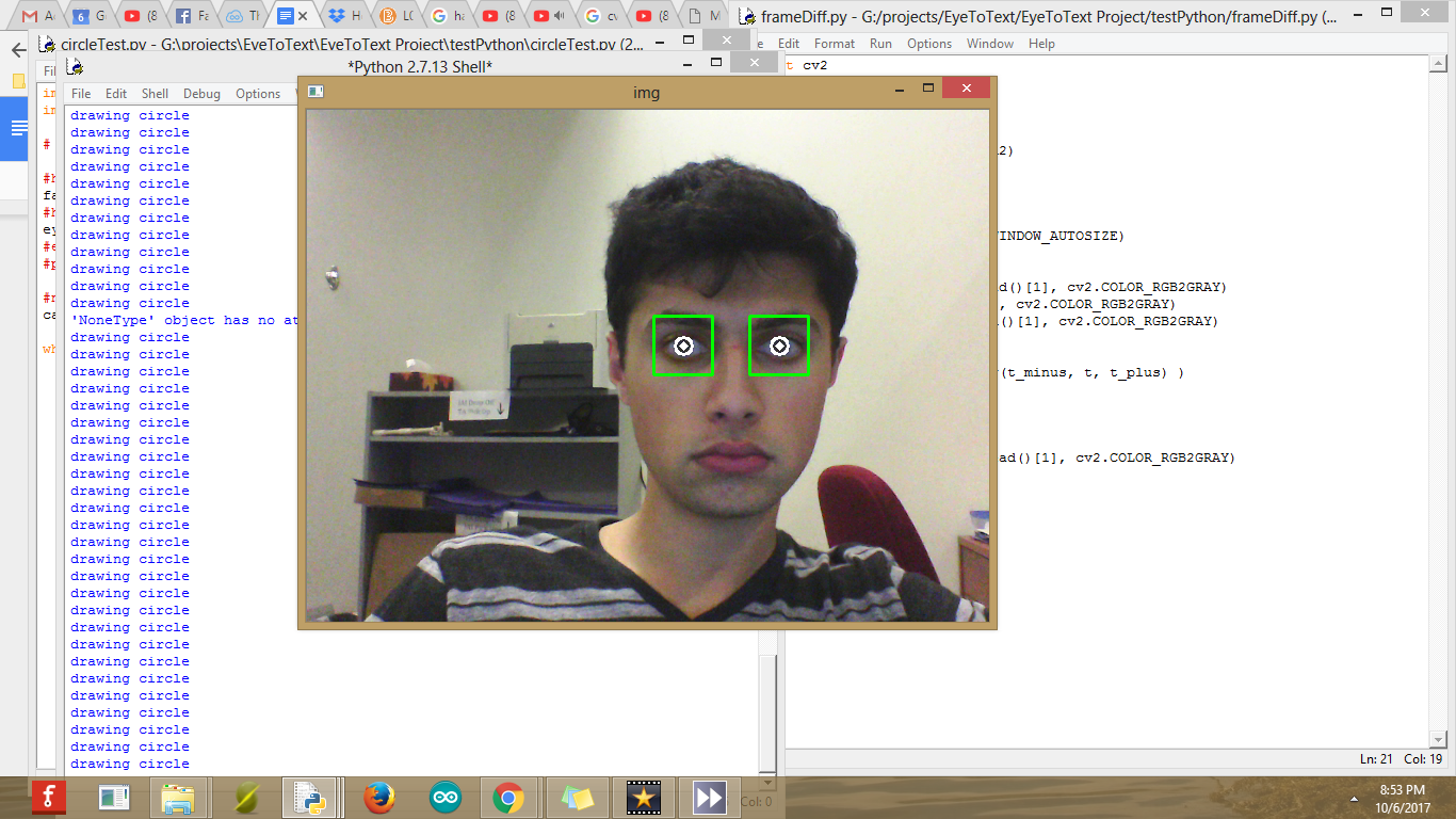 Eye Blink Detection Algorithms   Details   Hackaday io