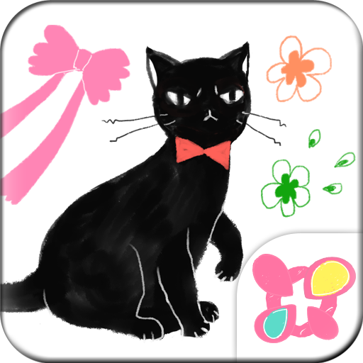 Girly Wallpaper Fancy Cat Icon
