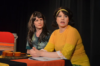 Photo: Henna Kvist ja Anna Myllyaho. Kuva: Mirka Pohjanrinne.