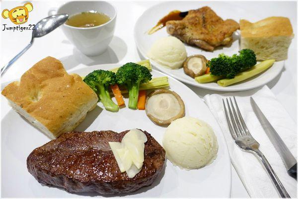 大黑の店-超高CP值的嫩煎里肌牛排/多汁雞腿排,expresso甜點超棒