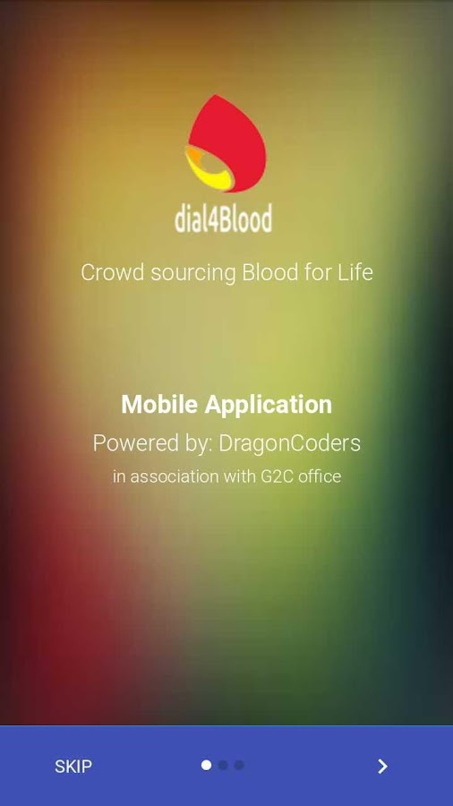 dial4blood- screenshot