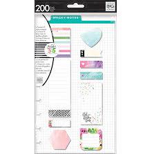 Me & My Big Ideas Happy Planner Sticky Notes 200/Pkg - Blah Blah
