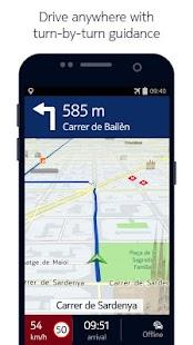HERE Maps - Offline Navigation Screenshot 1