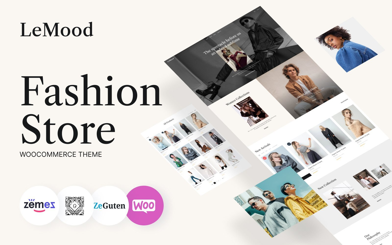 Fastest WooCommerce themes LeMood