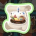 ケーキの帽子の設計図