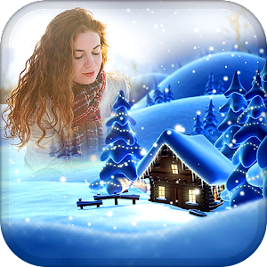 Snowfall Photo Frames apk