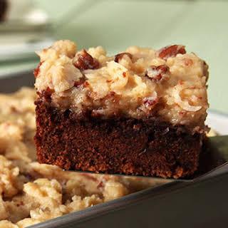 Easy BAKER'S GERMAN'S Sweet Chocolate Cake.