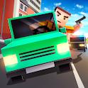 Cube Car Theft Race 3D icon