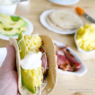 Breakfast Fajitas (Low Carb, Gluten-free).